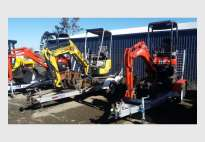 1.7T Yanmar Excavator with trailer package
