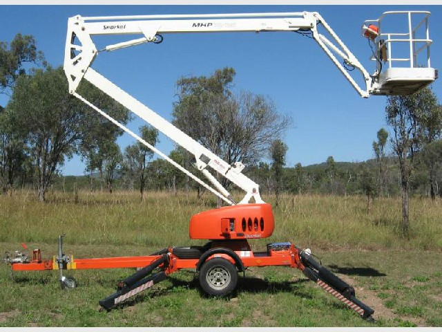13 meter cherry picker mhp1335 snorkel for hire in rockhampton 13 meter cherry picker mhp1335 snorkel sciox Gallery