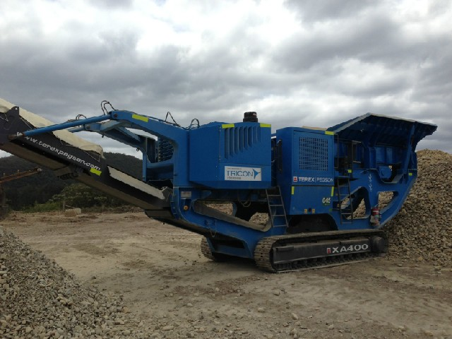 2008 terex pegson xa 400 jaw crusher for hire in somersby nsw 2250 rh dryhireonline com au