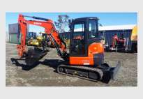 3.5T KUBOTA  Excavator open or aircab