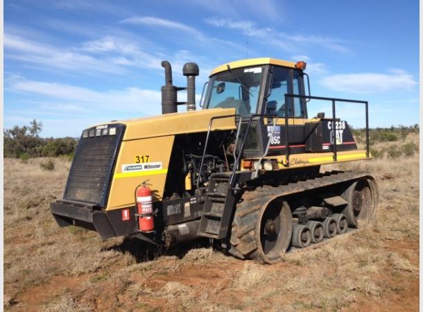 Cat challenger tractor hire civilpro pty ltd dry hire online