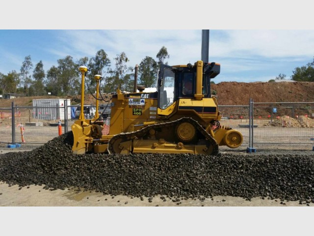 Cat D5 Hi-rail dozers with GPS for hire in Noosa Heads, QLD 4567