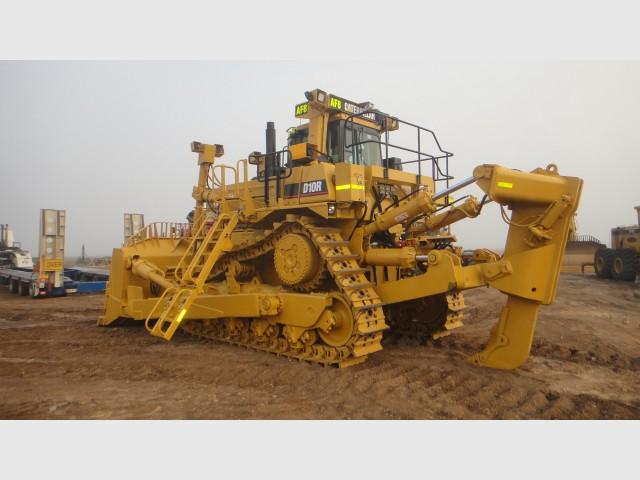 D10R Caterpillar Dozer (D10R #8) for hire in Gladstone, QLD 4680