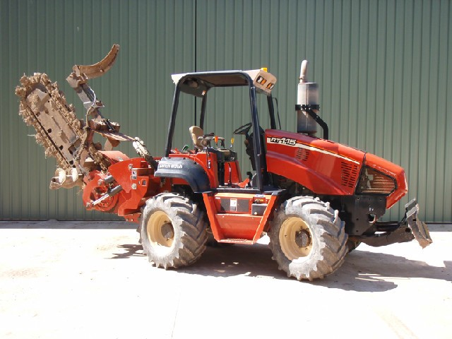 Ditch Witch RT115 Trench Digger for hire in Wilberforce, NSW