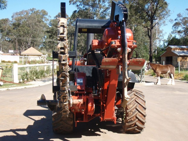 Ditch Witch RT95 Vitory Plough for hire in Wilberforce ... on