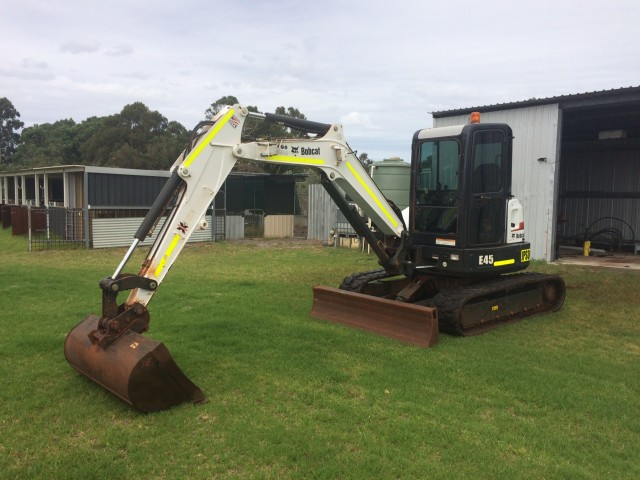 E45 Bobcat Excavator - 5T for hire in Perth, WA 6000