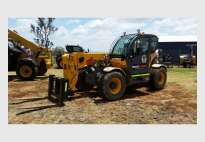 Telehandler wet hire with driver