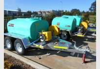 Water and Diesel Supply Trailers