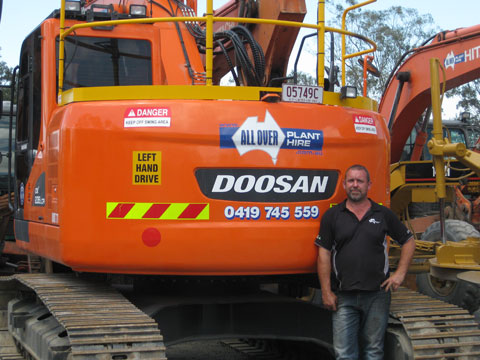 Sean Richardson - All Over Plant Hire