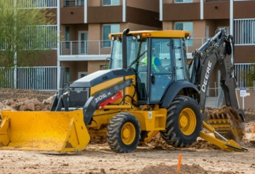 Standard Backhoe with Hammer
