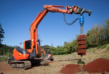 4T EXCAVATOR DRILL TO SUIT ‐ 300, 450, 600