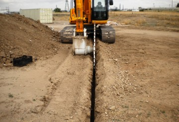 Rock saw to fit 20T Excavator