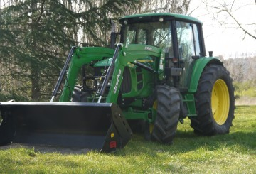 105HP John Deere 6330 Tractor with Cabin & Loader