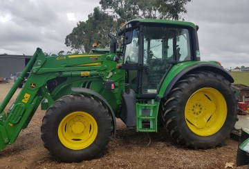 125HP 4WD Tractor with Front end loader