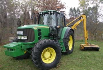 125hp John Deere 6530 Premium Tractor with McConnell Reach Mower