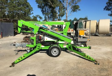 12m Nifty Lift Cherry Picker Trailer