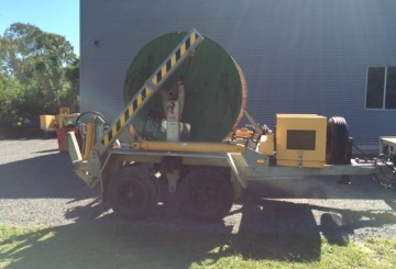 "2008 Redmond Gary 6Ton Self Loading Cable Trailer. ""Jinka"""