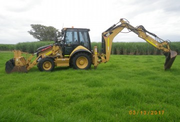 2009 CAT 423E Backhoe Loader