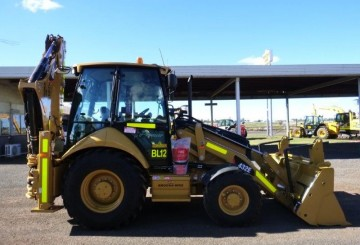 2012 CAT 432E Backhoe