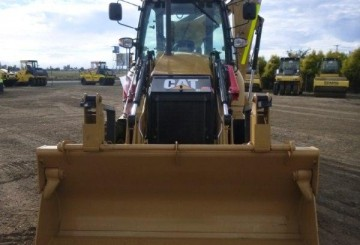 2012 CAT 432F Backhoe