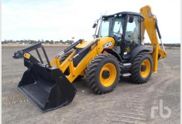 2012 JCB 4CX-4WS ECO Backhoe