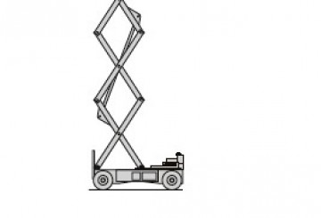 40' Electric Scissor Lift