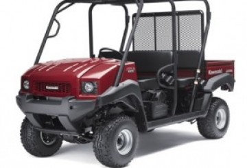 4010 Kawasaki Trans Mule 4-person- Petrol