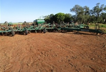 40FT Janke Universal Direct Drill Airseeder
