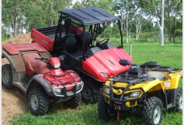 ATV and UTV hire