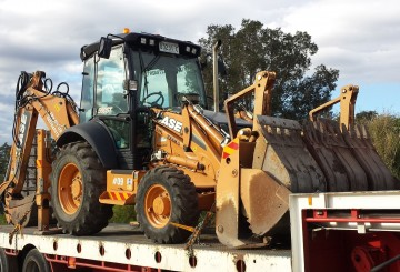 Backhoe CASE 590ST 2012