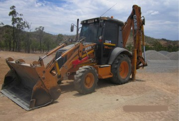 Case 590SR Series 3 Backhoe
