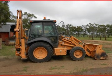 Case Backhoe 580 series
