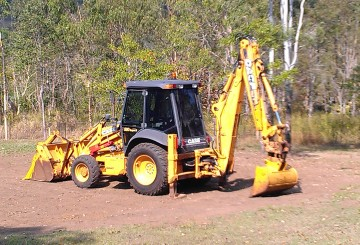 Case Backhoe 590 Series 3