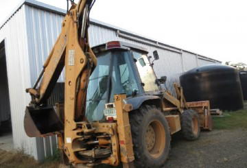 CASE Super SL Backhoe
