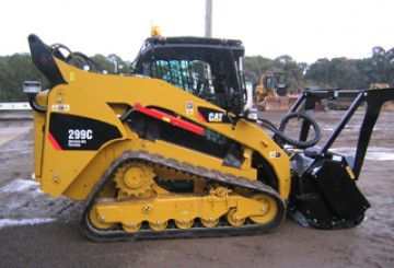Cat 299C Tracked Skid Steer