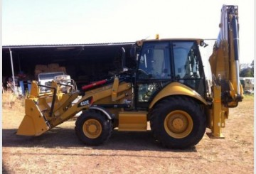 Cat 432E Backhoe