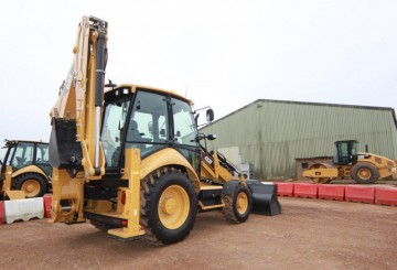 Caterpillar	 432F Backhoe