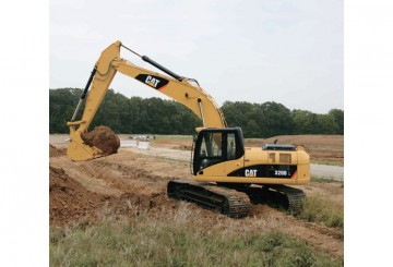 GPS guidance equipped 20T excavator low hours