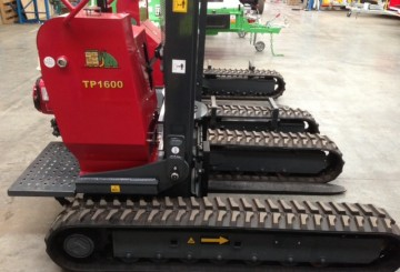 Hades Tracked Fork Lift- with track widening