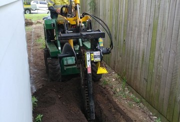 Hire Kanga Series 6 Excavator Levelling Augers Trencher Brisbane