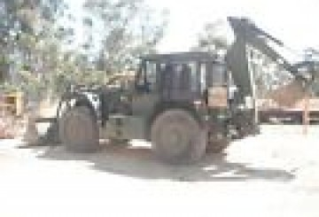 HMEV high speed heavy duty backhoe