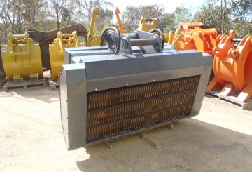 Machinery Attachments Buckets Tilt Sieve Screening Mud Trenching Rock