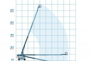 Mobile Straight Boom - 26m (85ft) Diesel Genie