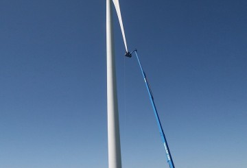 Mobile Straight Boom - 55m (180ft) Diesel Genie