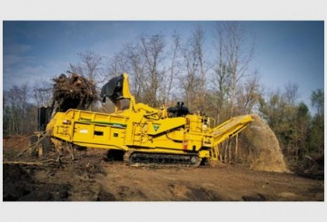 Mulcher-Wood Grinder - Horizontal Grinder - Wood Chipper