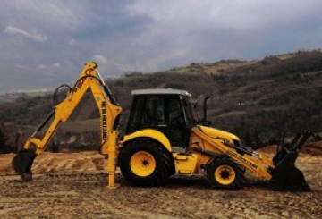 New Holland Backhoe