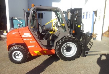NSW Rough Terrian Forklift Rentals