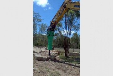 ROCK BREAKER HIRE QLD