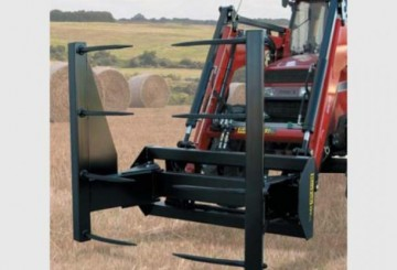 Round Bale Stacker Grab