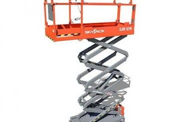 Scissor Lift - 5.8m (19ft) Electric Skyjack